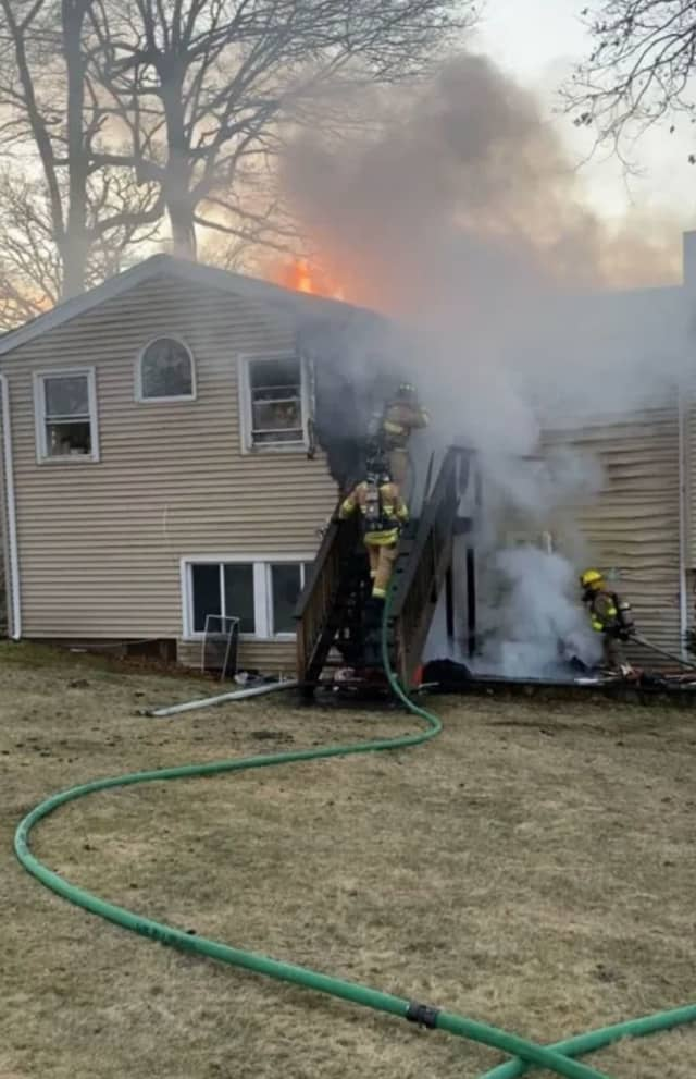 A house fire broke out in a Stamford home under renovation.