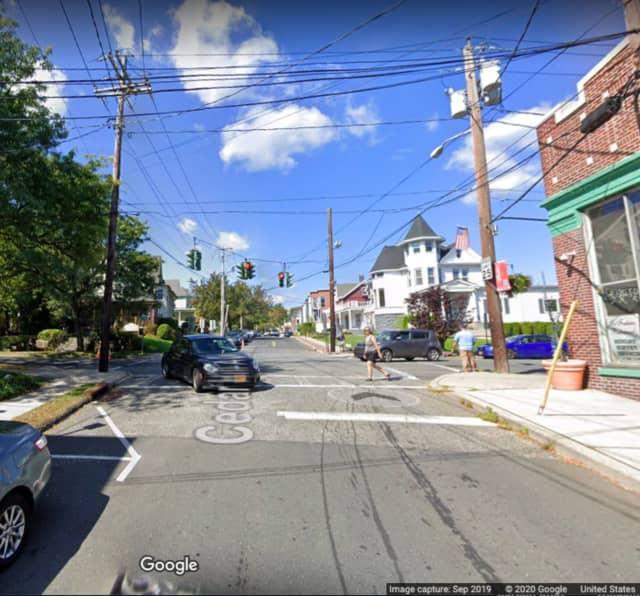 Cedar Hill Avenue in Nyack.