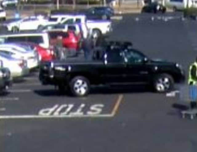 A man is wanted for allegedly stealing a bag containing diamonds from a shopping cart at Walmart on Vets Highway in Islandia.