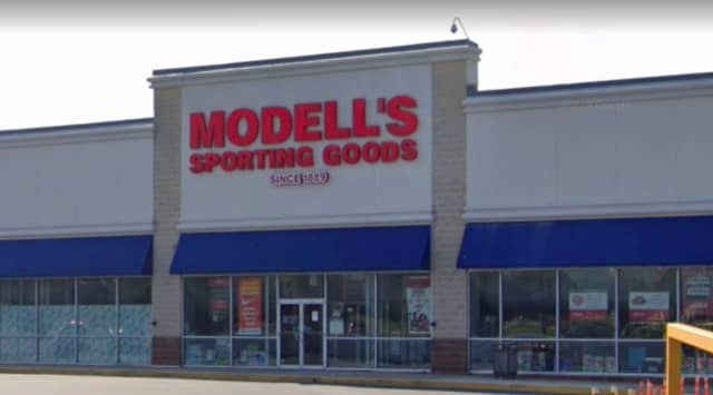 Modell's Sporting Goods in Woodbridge.