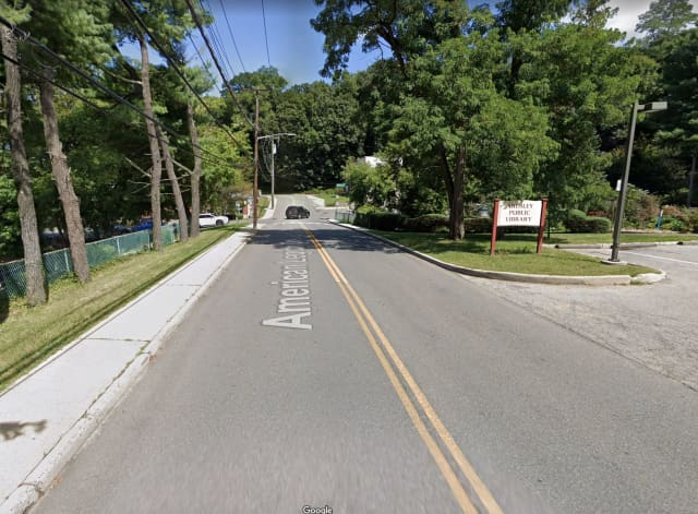 A 95-year-old woman died after being involved in a one-car crash on American Legion Drive in Ardsley.