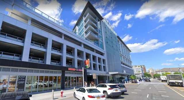A suspicious package was reported at 500 Avenue, Port Imperial on Wednesday.