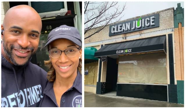 David Tyree and his wife, Leilah, are opening a Clean Juice shop at 68 South St. in Morristown. Last August, they signed a franchise agreement with the company.