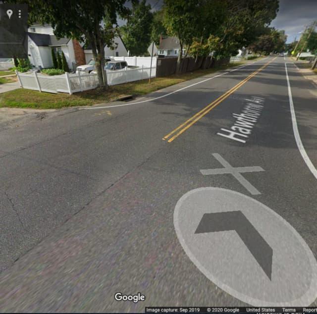 Hawthorne Avenue, near Storey Avenue in Central Islip.