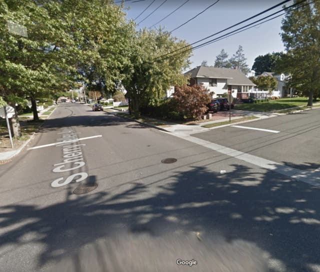 Police are searching for two men who allegedly robbed a man on Long Island.