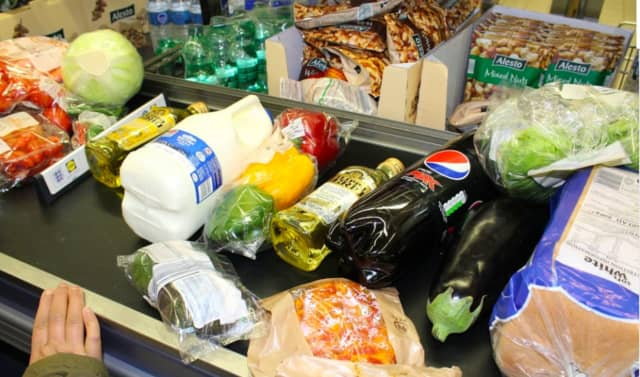 Shoppers have been flocking to area grocery stores, putting themselves and employees at risk to exposure of COVID-19.