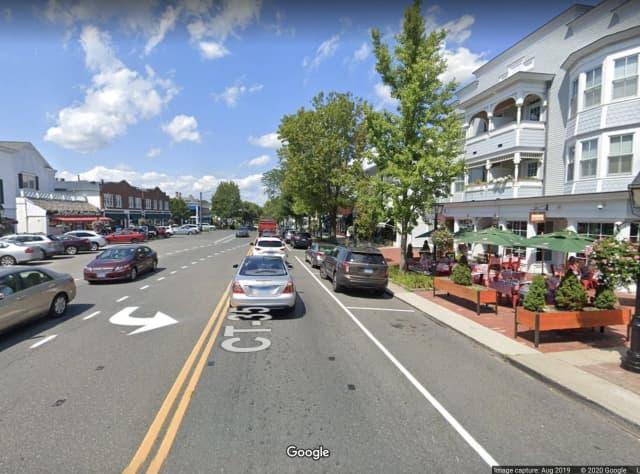 Main Street in Ridgefield.