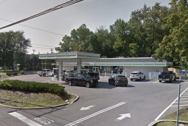 The Cumberland Farms store that was robbed.