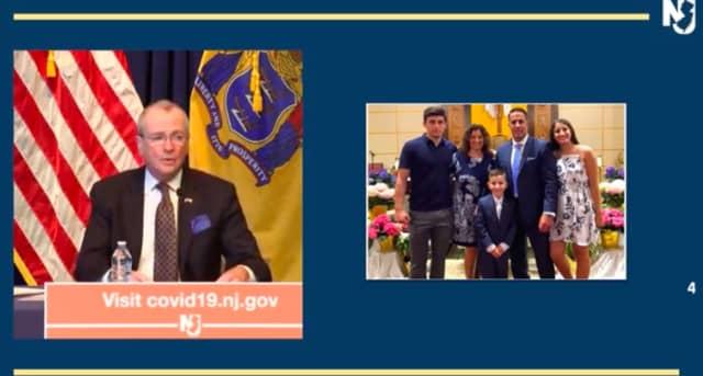 Gov. Murphy honors Caldwell principal James Brown, who died of coronavirus at 48 years old.