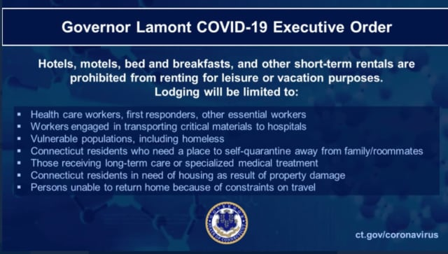 A look at the latest executive order related to the novel coronavirus (COVID-19) pandemic.