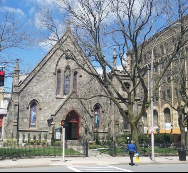 Grace Episcopal Church in White Plains