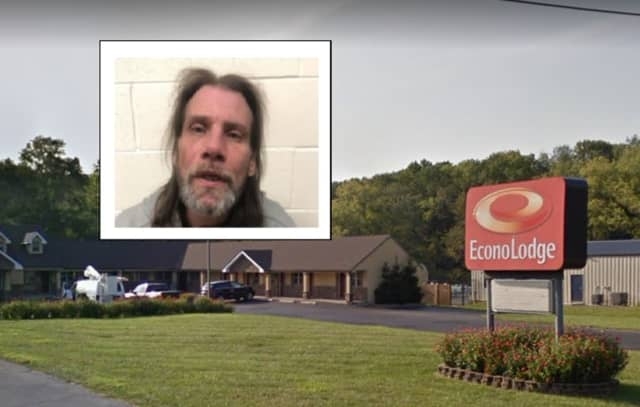 Gregory S. Whitehead was drunk when he hit a woman numerous times in the face at a local hotel, said authorities who charged him.