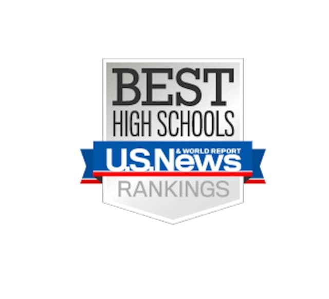 U.S. News & World Report Best High Schools Rankings.