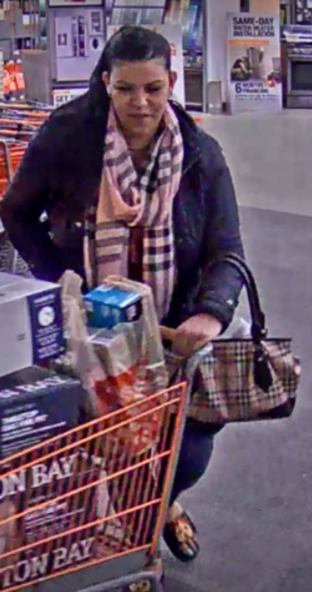 Have you seen her? Old Bridge Township police are looking for a woman suspected of racking up $13,000 in goods on a fraudulent credit card.