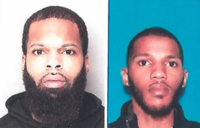 Police are searching for Jihad Bell (L) and Dwayne Simmons, Jr. (R), who are suspects in an aggravated assault shooting that occurred on the 900 block of 18th Avenue March 30, authorities said.