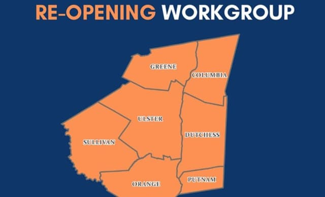 Elected officials in the Hudson Valley are teaming to come up with the best plan to re-open the region.