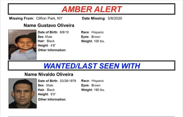 Amber Alert Update Missing 9 Year Old Upstate Ny Boy Located Suspect In Custody Mount Pleasant Daily Voice