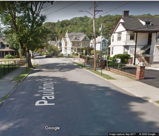 Paulding Street in Peekskill.