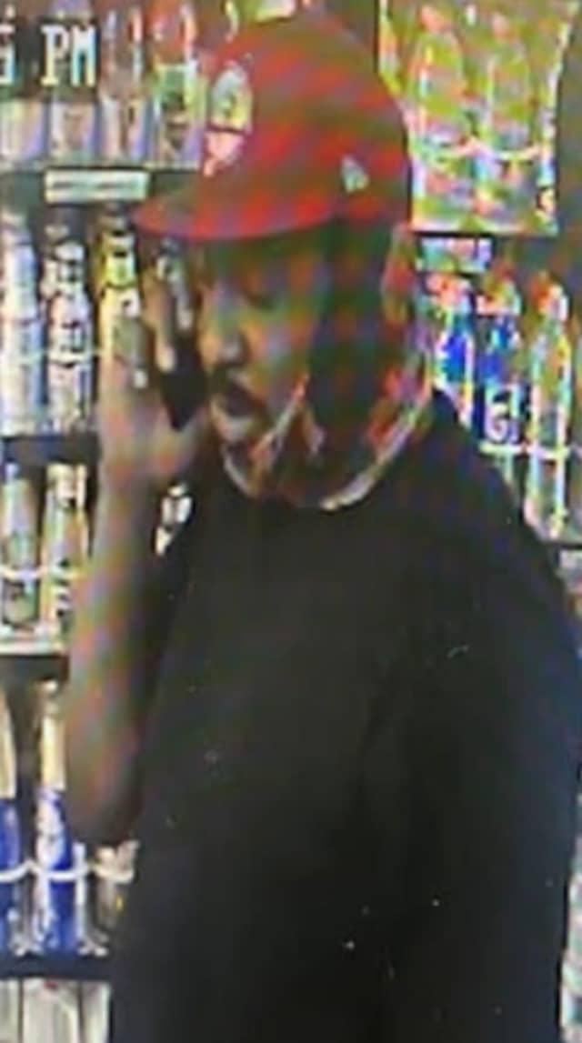 A man is wanted for stealing from a Long Island gas station, police said.