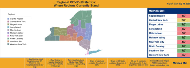 Some regions in New York will begin opening up from the COVID-19 crisis as soon as Friday, May 15.