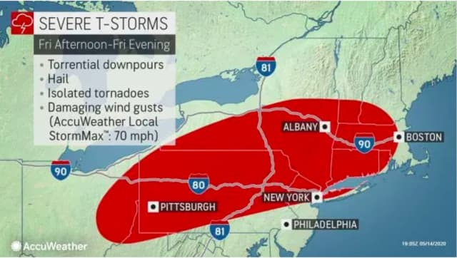 A look at the storm system.