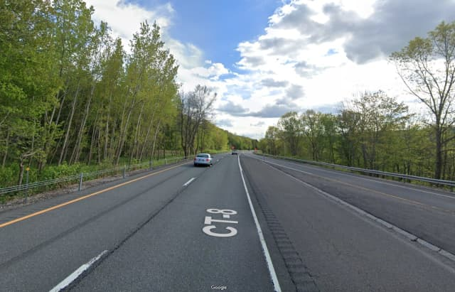 Route 8 in Thomaston.