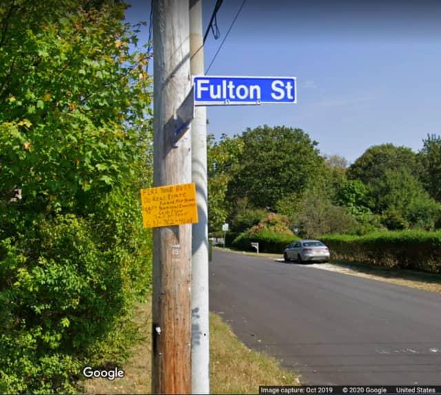 Fulton Street in Brentwood.