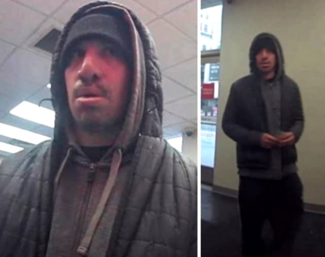 Authorities are seeking the public's help identifying a man they say stole cash from a victim who was using an ATM.