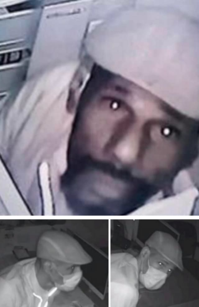 Authorities are seeking the public's help identifying a man they say stole computer equipment from a business in Newark.