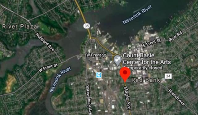 Red Bank police were in pursuit of a vehicle on Route 35 near W. Westside Ave.