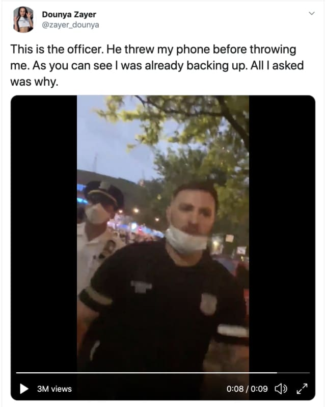 NYPD Officer Vincent D'Andraia