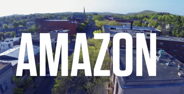 Amazon announced plans to open a distribution center in Danbury.