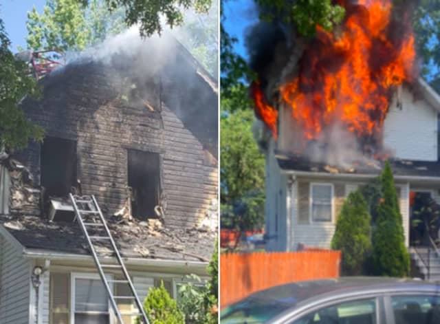 A family was displaced in a Montclair fire.