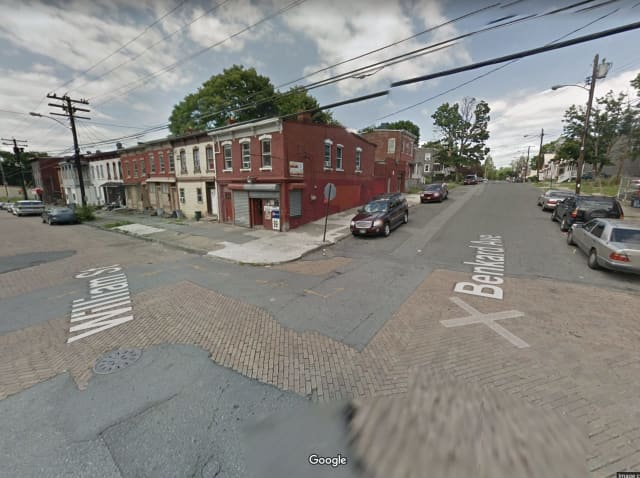 The area of the shooting at Benkard Avenue and William Street in the City of Newburgh.