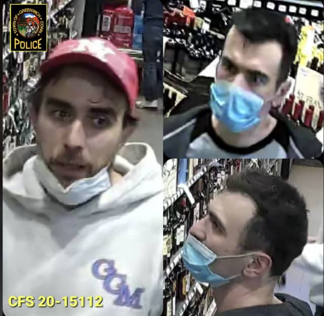 Greenwich Police are asking for help identifying the men pictured.