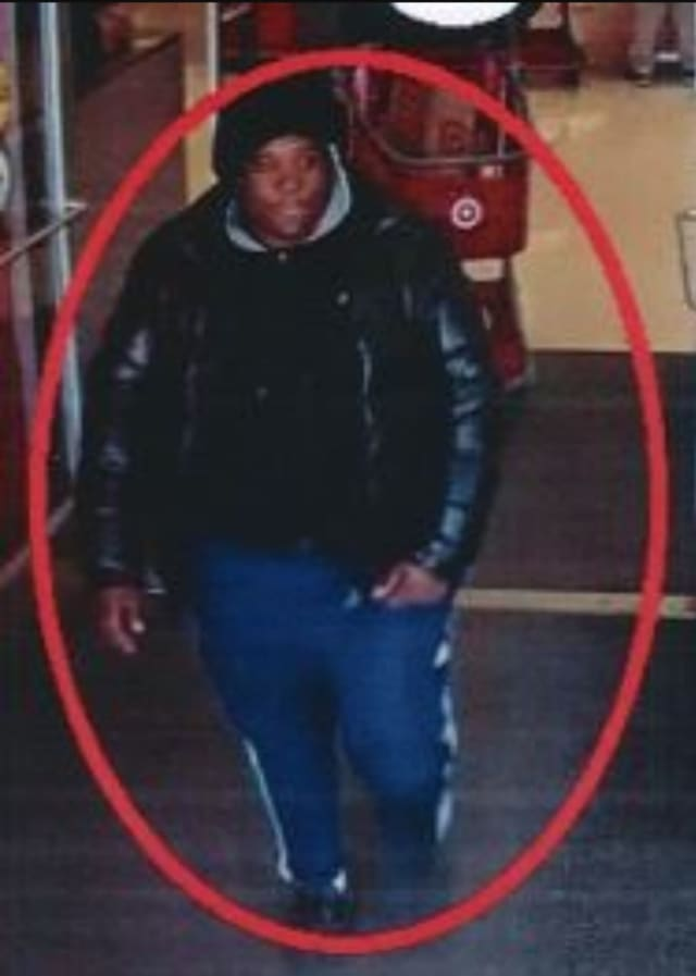 A man is wanted for stealing from Target in Medford