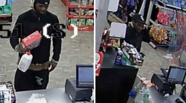 A man stole a wallet containing credit cards as well as an iPad and Apple Watch from a home on the 100 block of Hawthorne Avenue on Monday, April 27, authorities said.