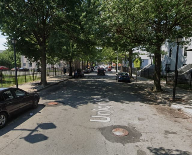 Union Street between Martin Luther KingDrive and Ocean Avenue in Jersey City