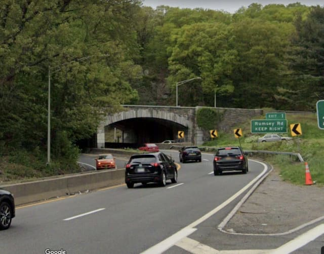 A man was killed after crashing his motorcycle into a guard rail on the Saw Mill River Parkway.