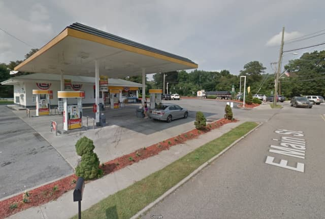 The Courtesy Shell gas station on Main Street in Westchester.