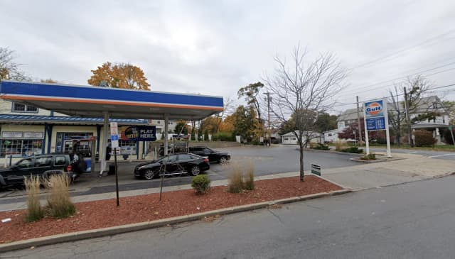 Two men shot at each other at a gas station in Poughkeepsie while numerous people were in the area.