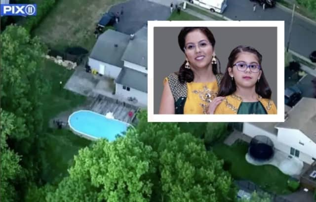 Nisha Patel, 33, and her 8-year-old daughter, who drowned along with Nisha's 62-year-old father-in-law.