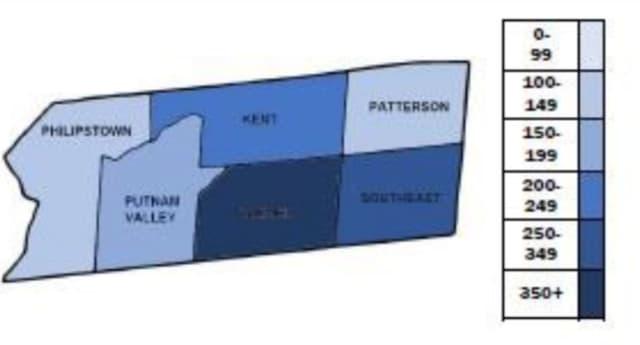 A breakdown of COVID-19 cases in Putnam County
