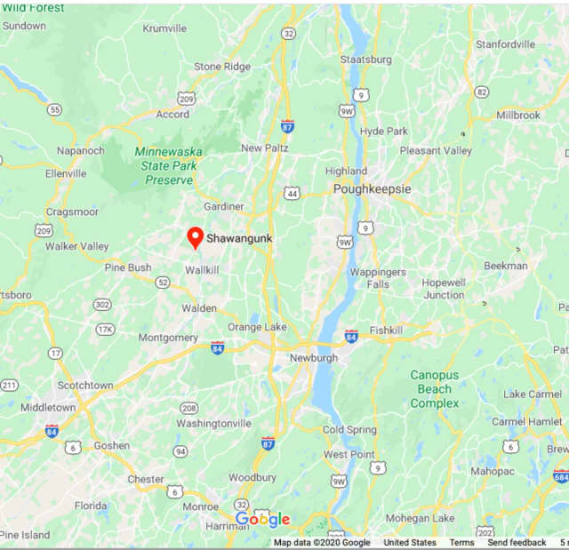 The Town of Shawangunk in Ulster County.