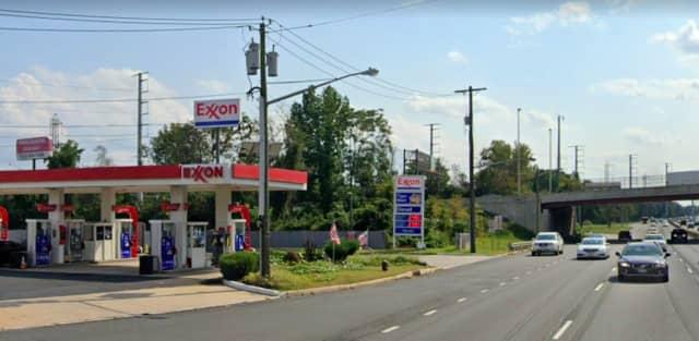 Circle Exxon on Route 1 in North Brunswick.