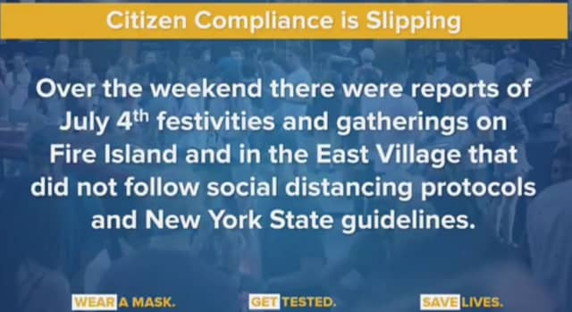 There will be an increased police presence on Fire Island after party-goers flocked to beaches without face masks or socially distancing.