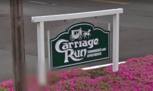 The Carriage Run apartments on Village Drive in Franklin Township.