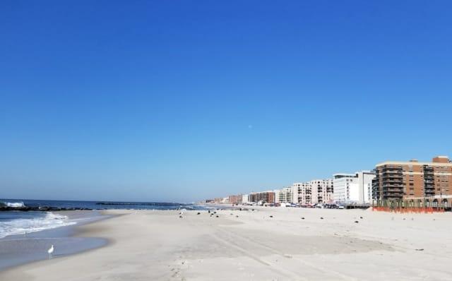 Ocean Beach Park in Long Beach