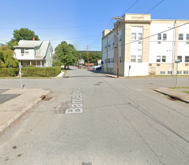 The intersection of Barcelow Street and Seward Avenue in Port Jervis.