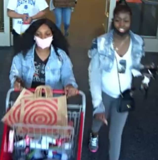 Two women are wanted after allegedly stealing clothing from Target in Huntington Station.